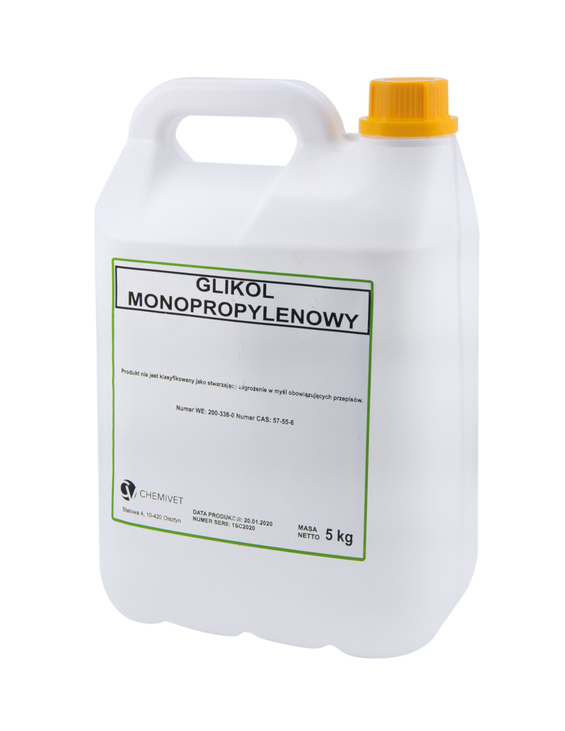 GLIKOL MONOPROPYLENOWY 5 KG