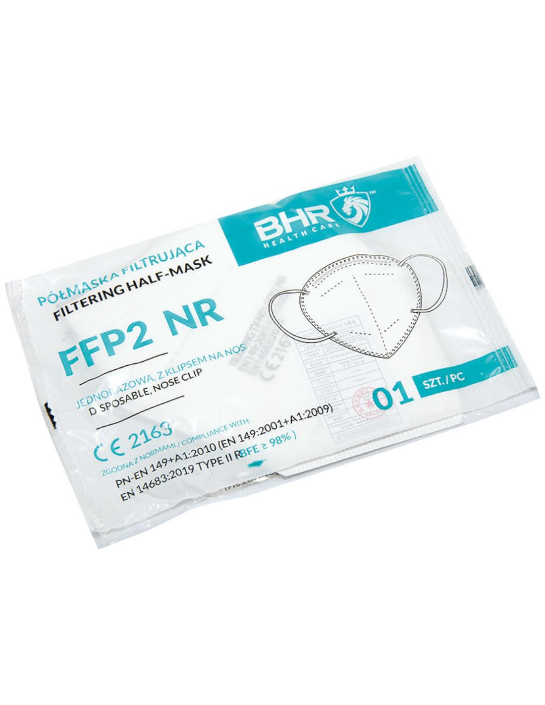 PÓŁMASKA FILTRUJĄCA FFP2 TX-N01